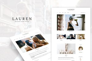 Lauren - Clean WordPress Blog Theme