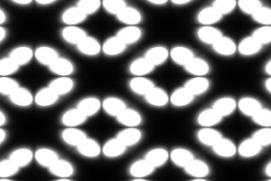 Black and white geometric shapes pattern illustration background