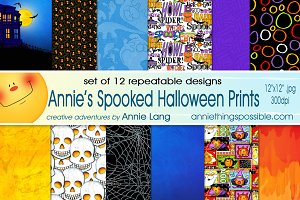 Annie's Spooked Halloween Prints