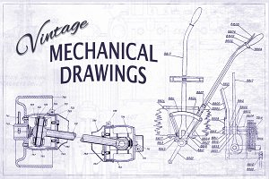 Vintage Mechanical Drawings