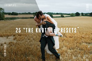 25 the Knot Lightroom Presets