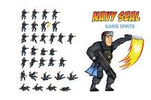 NAVY SEAL Game Sprite
