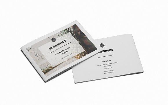Blessings Creative A5 Brochure