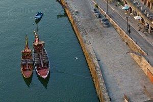 Ribeira embankment, Porto