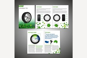 Tire Brochure Design