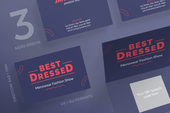 Business Cards Best Dressed