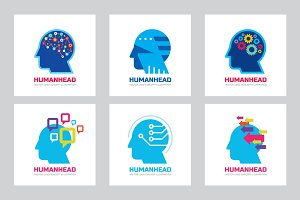 Human Head - Logo Sign Collection