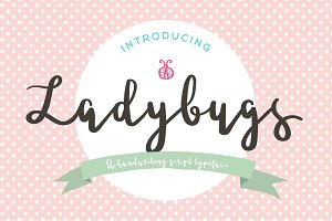 Ladybugs Script Font