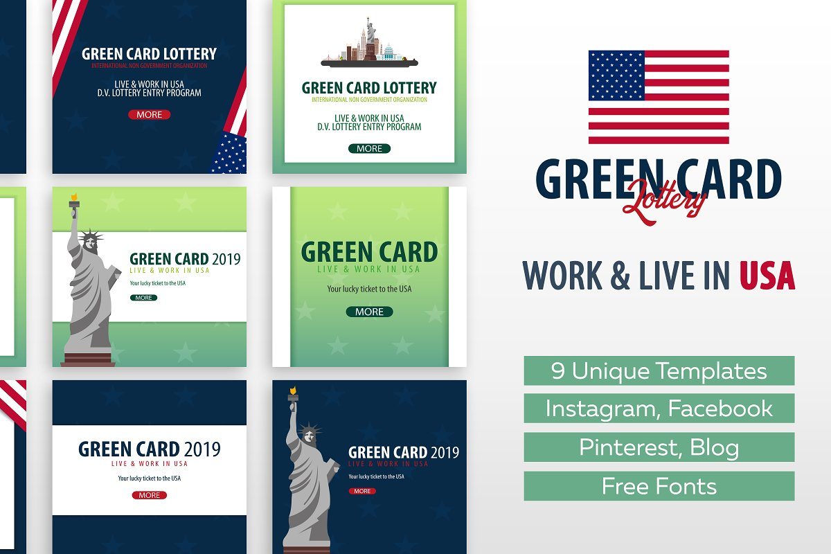 Image result for green card organization