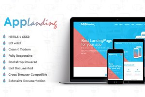 AppLanding - HTML5 Landing Page