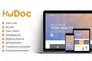 MedDoc - HTML Template
