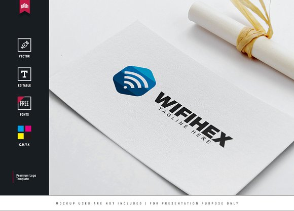 Wifi Hex Logo