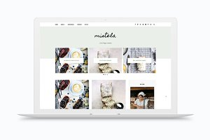 Responsive Blogger Template Mistela
