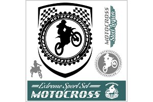 Moto Track Logos and bages