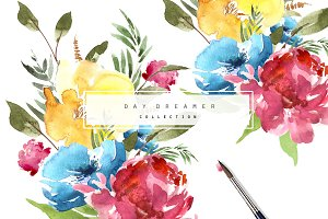 Day Dreamer Watercolour Set