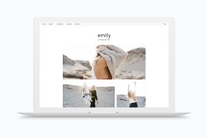 RESPONSIVE BLOGGER TEMPLATE EMILY