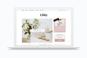 RESPONSIVE BLOGGER TEMPLATE LIBBY