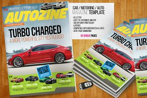 Car Magazine Template