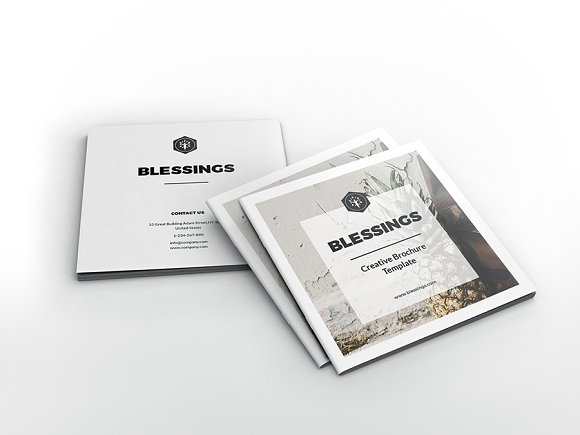 Blessings Creative Square Brochure