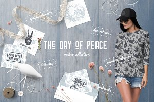 The Day of Peace Vector Collection