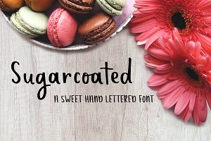 Sugarcoated - Handwritten Font