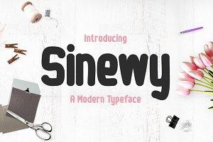 Sinewy Typeface