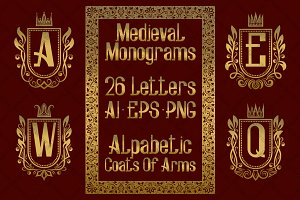 Medieval alphabetic monograms