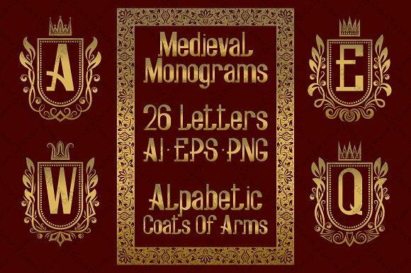 Medieval Alphabetic Monograms