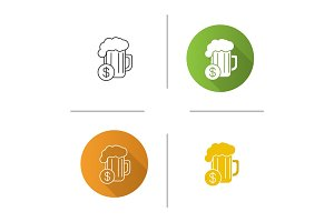 Buy beer icon