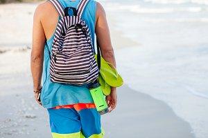 backpacker man travel