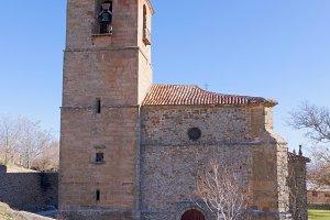 Atienza trinity church, Spain