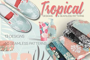 Tropical Patterns and Designs