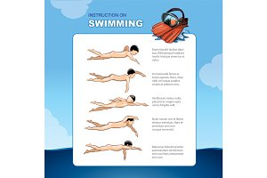 Instruction on swimming