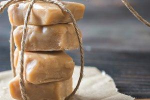 Maple cream fudge