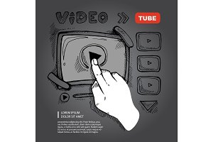 doodle video player