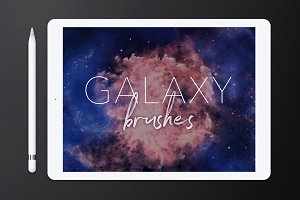 Galaxy Brushes for Procreate Vol. 1