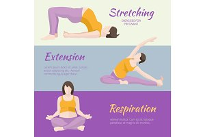 Pregnant Woman Exercises