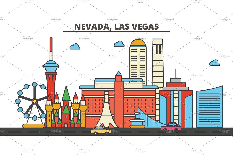 Nevada las vegas city skyline architecture buildings for Architectural design concepts las vegas