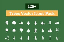 125+ Trees Vector Icons Pack