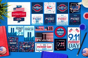 Patriot Day Banners