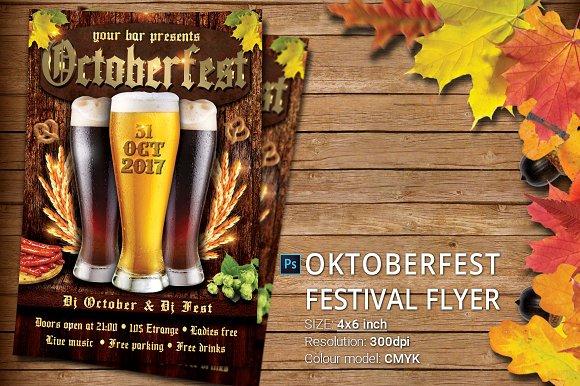 Oktoberfest Festival Party Flyer