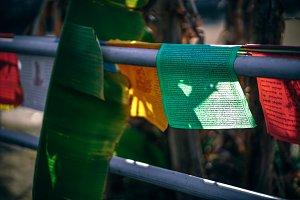 Religious Prayer Flags