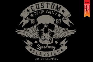 DEATH VALLEY - Bikers collection