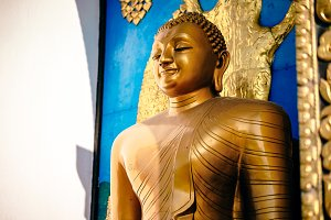 Peace Pagoda Buddha Statue