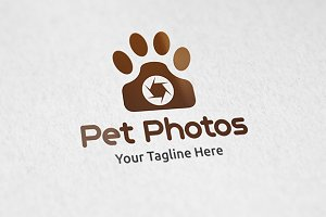 Pet Photos - Logo Template