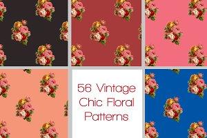 Vintage Floral Pattern Pack