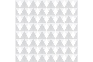 Vector light grey geometric triangles seamless repeat pattern background. Perfect for modern fabric, wallpaper, wrapping, stationery, home decor projects.