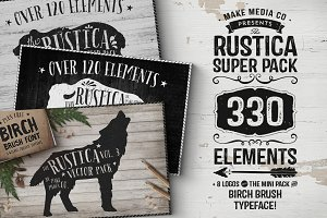 The Rustica SUPER Pack • 33% OFF