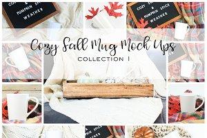 Cozy Fall Mug Mock Ups | Coll. 1