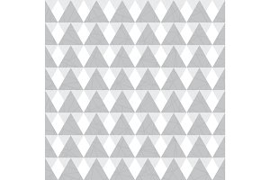 Vector silver grey geometric triangles seamless repeat pattern background. Perfect for modern fabric, wallpaper, wrapping, stationery, home decor projects.